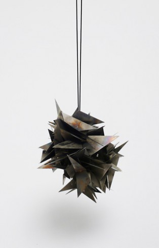 untitled, 2008, Pendant, Steelo.T., 2008, Anhänger, Edelstahl