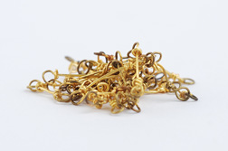 <h7>untitled, 2008, Necklace, Gold</h7><br />o.T., 2008, Halsschmuck, Gold